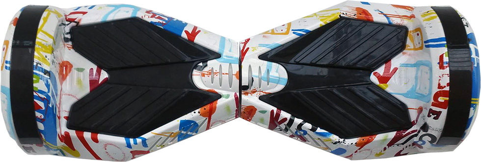 ховърборд 8 инча цвят Графити изглед отгоре