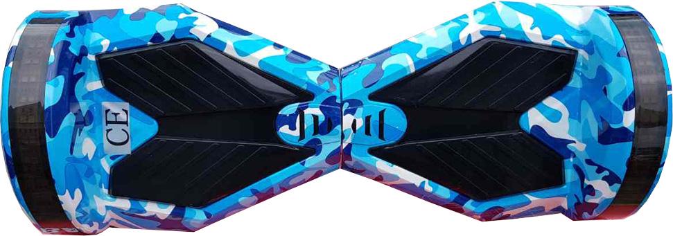 ховърборд 8 инча цвят Морски Камофлаж изглед отгоре